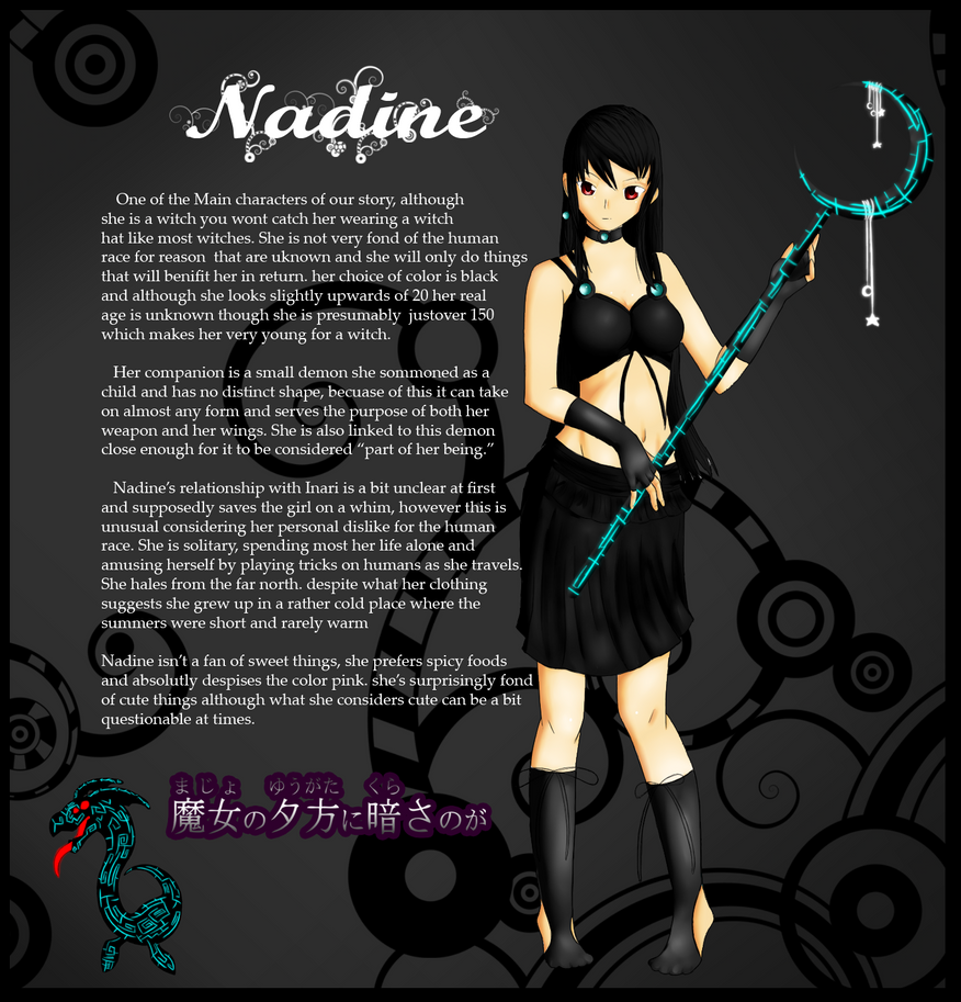 Nadine the witch by camychan