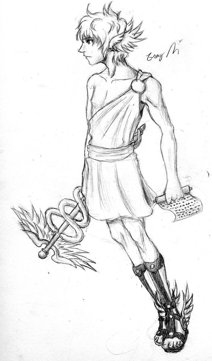 Hermes God Of Messenger