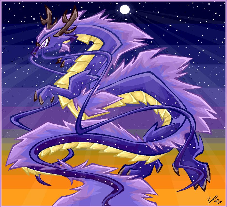 Celestial Dragon by TeniCola