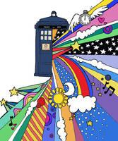 The TARDIS by sallangel