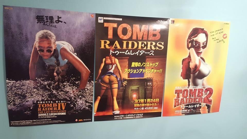 tomb raider ps1 poster