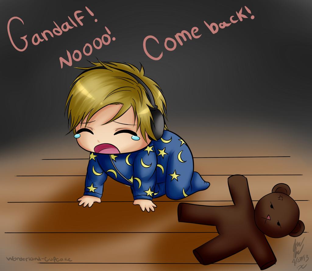 Baby Pewds Among The Sleep By Wonderland Cupcake On