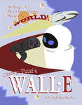 Wall-E - classic movie poster