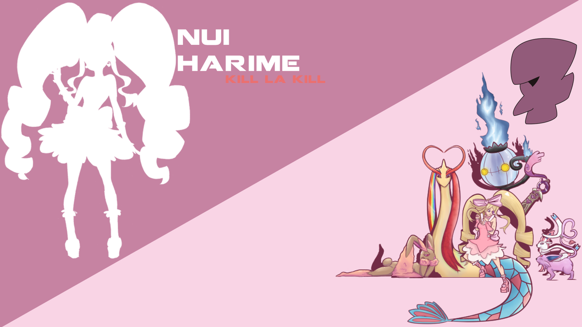 Harime Nui Pokemon Background By Feymark On Deviantart
