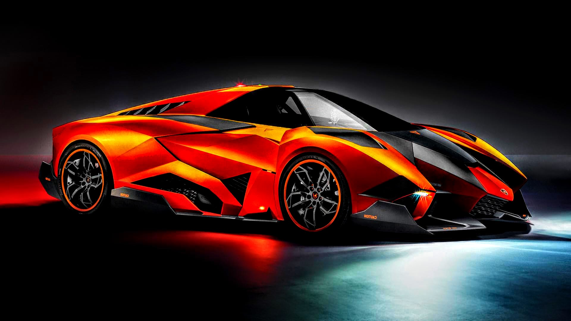 Lamborghini Egoista Exotic Orange By Rogue Rattlesnake On Deviantart