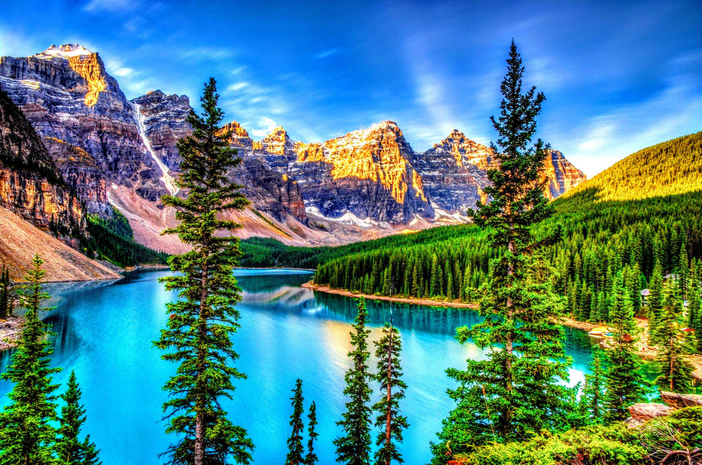 4k Mountain Forest And Lake Wallpaper By Rogue Rattlesnake