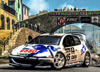 Need for Speed: V-Rally 2 (Peugeot) by ROGUE-RATTLESNAKE