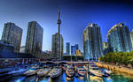 Toronto harbour front boat docks by ROGUE-RATTLESNAKE