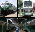 GO Transit collage ( Union Station ) by ROGUE-RATTLESNAKE
