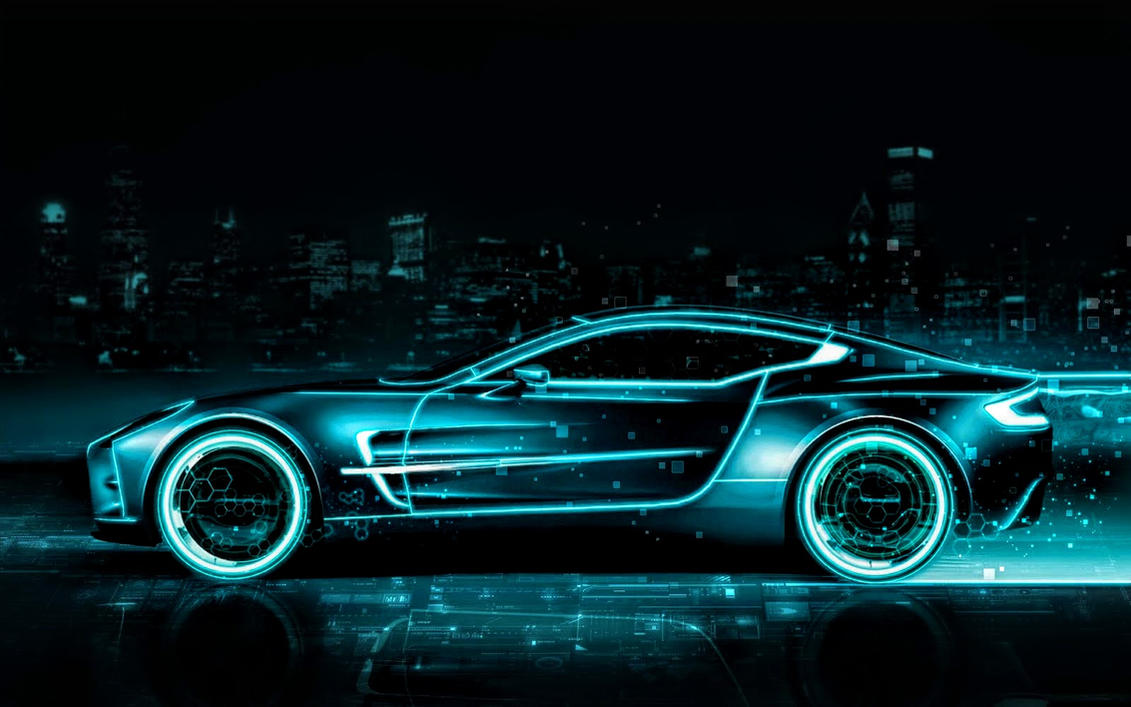 Futuristic Aston Martin Sports Car Wallpaper By ROGUE RATTLESNAKE ...