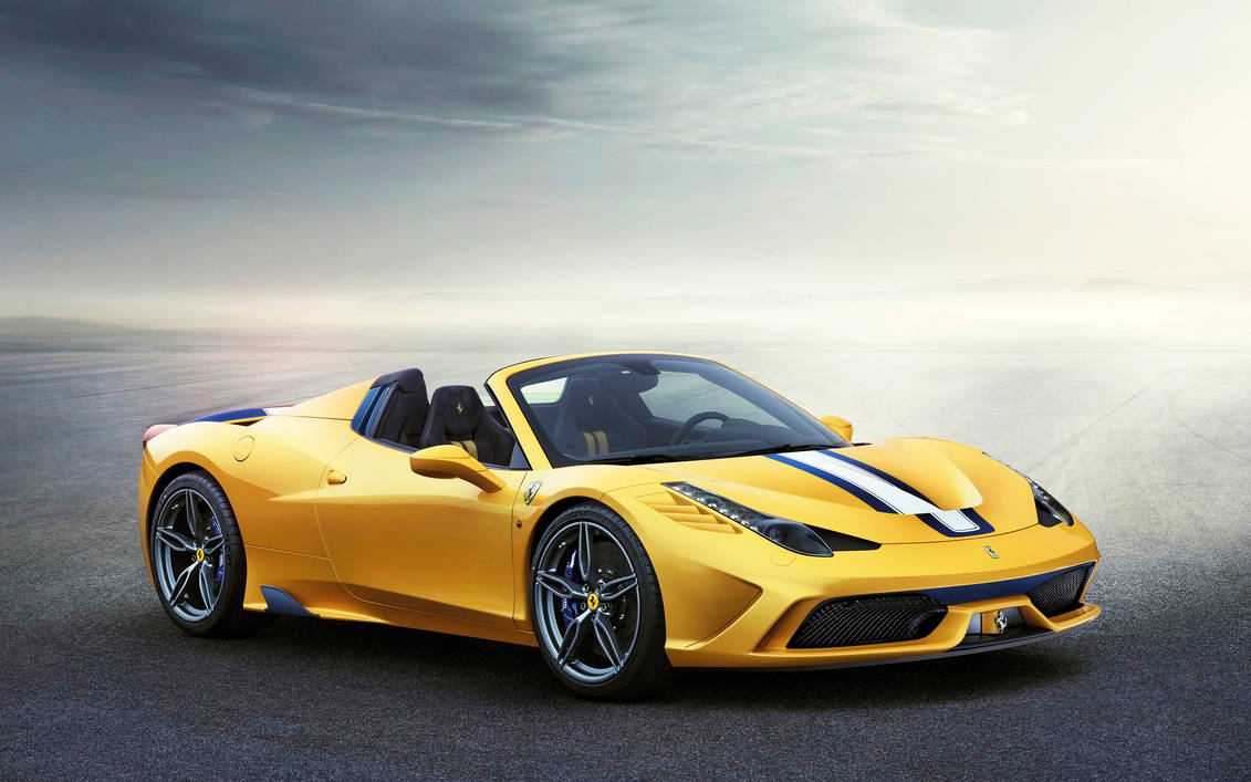 2015 Gold Ferrari 458 Speciale A Very Exclusive By Rogue