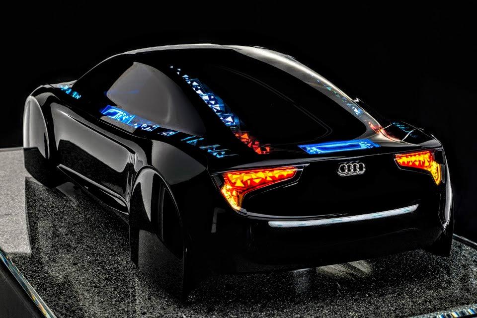 Black Audi R8 Le Mans Concept Car By ROGUE RATTLESNAKE ...
