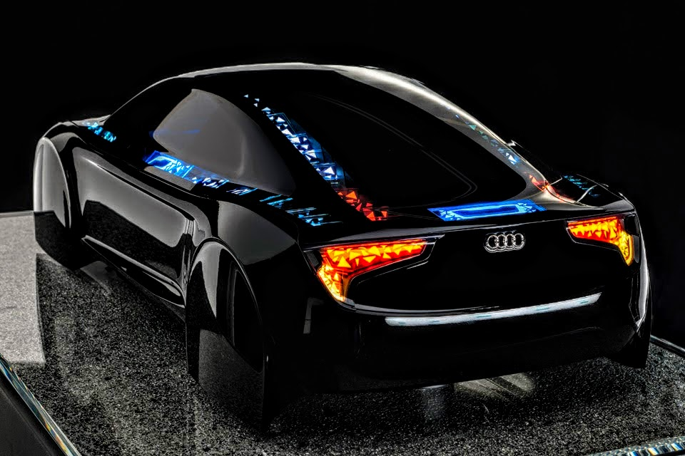 Black Audi R8 Le Mans Concept Car By Rogue Rattlesnake