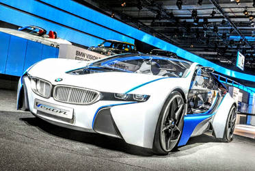 BMW Vision Efficient dynamics Concept Car by ROGUE-RATTLESNAKE