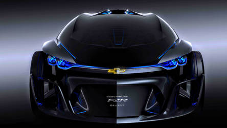 Chevrolet FNR sports Concept car by ROGUE-RATTLESNAKE