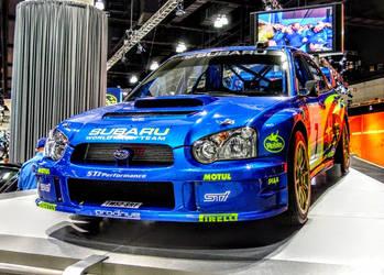 Subaru WRX STI's WRC - Front by ROGUE-RATTLESNAKE
