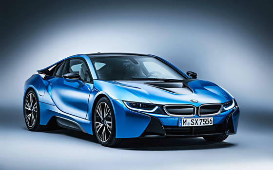 2015 BMW I8 in Protonic Blue