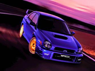 2001 Subaru Impreza WRX STI by ROGUE-RATTLESNAKE