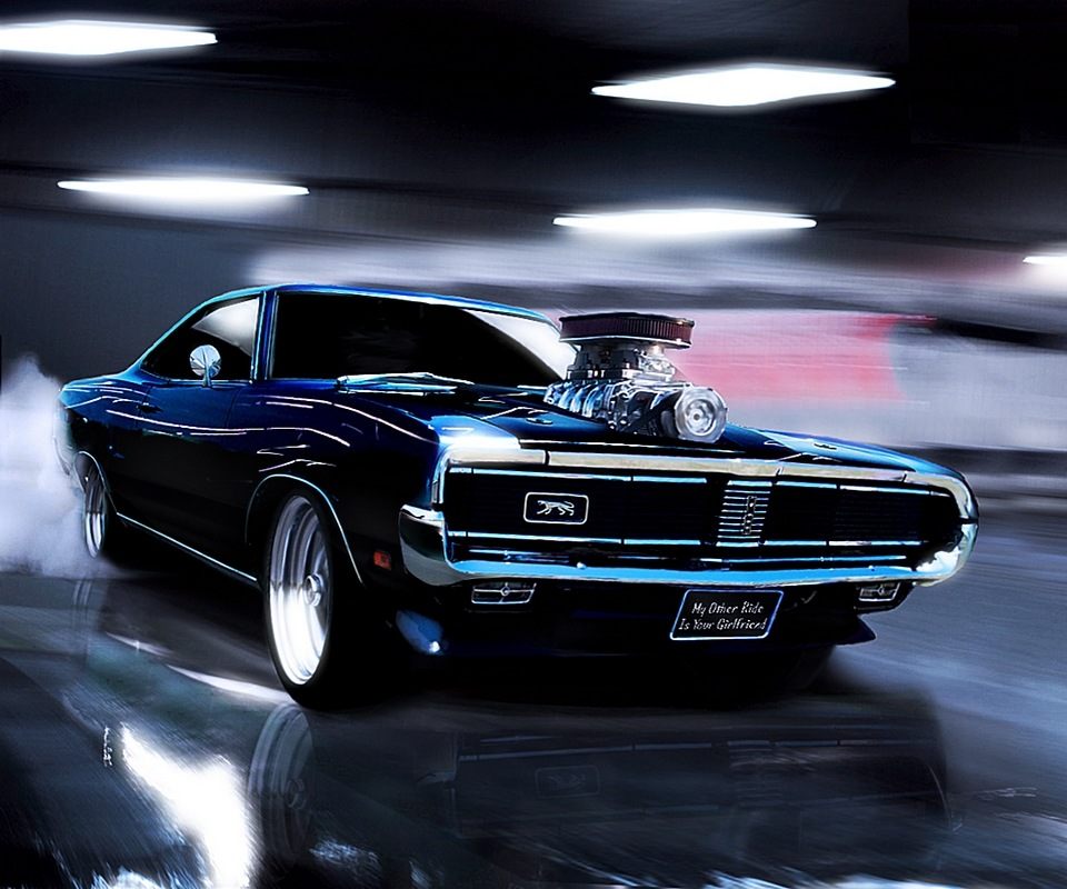1969 Dodge Charger Muscle Sports Car Wallpaper By ROGUE