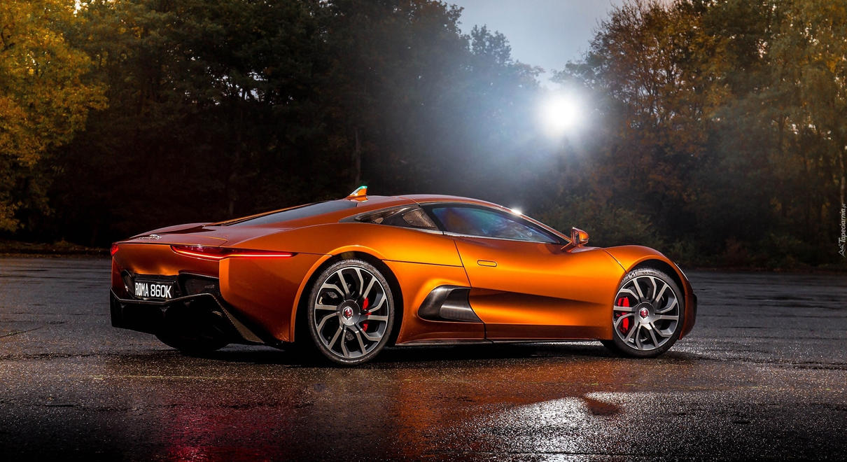 2015 Jaguar C-X75 - James Bond Car from Spectre by ROGUE-RATTLESNAKE
