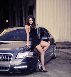 Hot Audi Girl Model by ROGUE-RATTLESNAKE