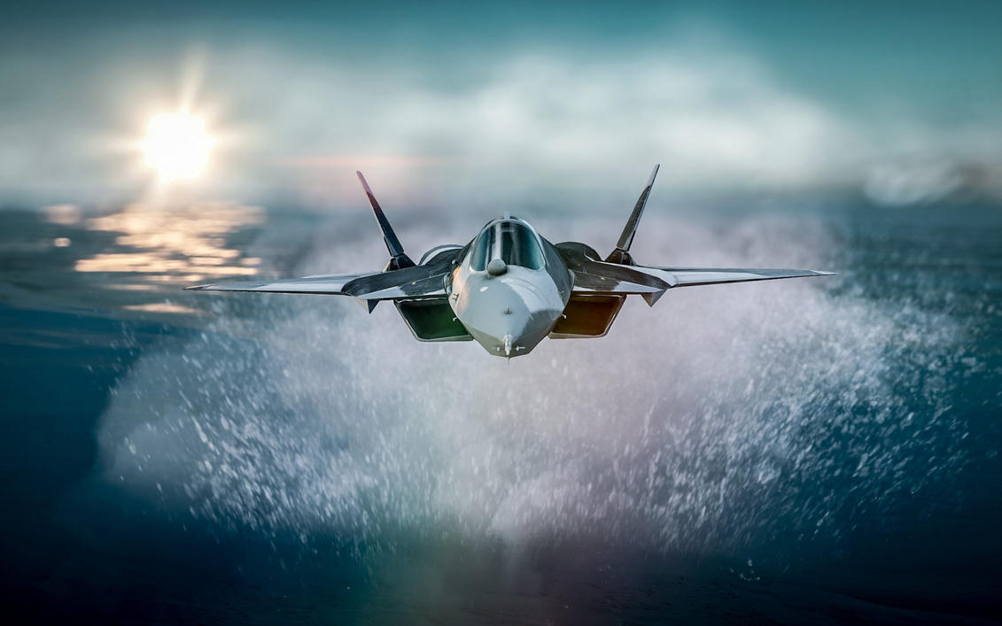 Aircraft Flying Over Sea HD Wallpaper By ROGUE RATTLESNAKE