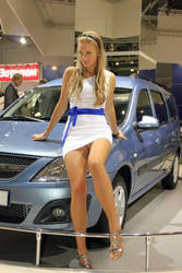 Hot Candid Car Show Model Girl by ROGUE-RATTLESNAKE