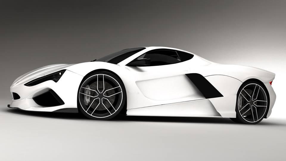 Lovely New Sbeza Vertigo Super Sports Car ( RARE ) By ROGUE RATTLESNAKE ...