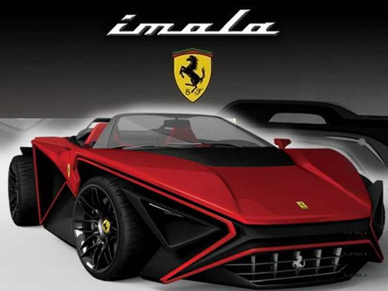 NEW MODEL FERRARI IMOLA SPORT CAR By ROGUE RATTLESNAKE ...