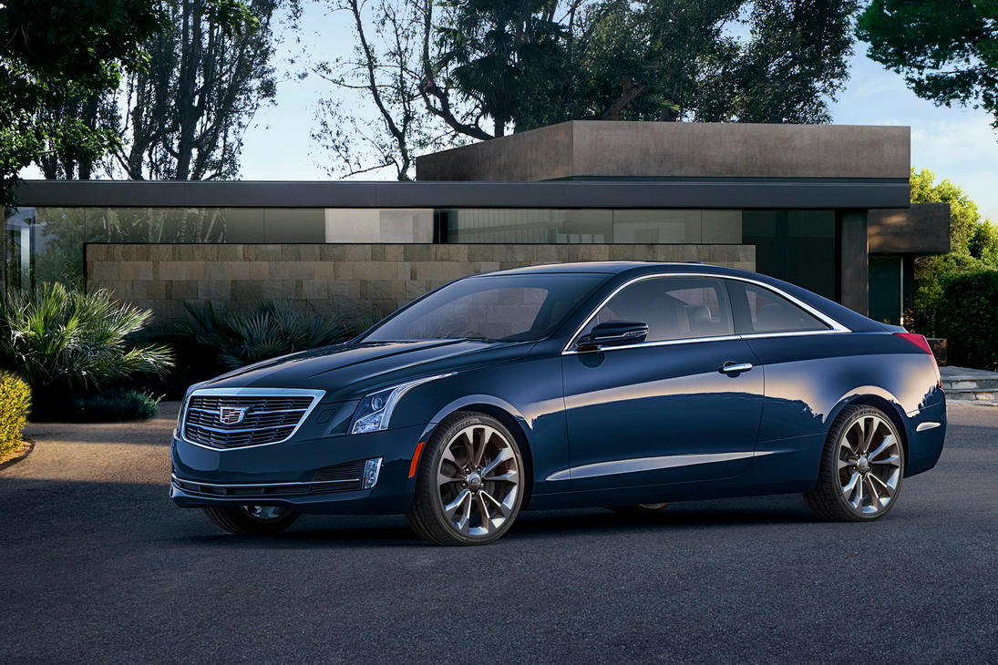 2015 Blue Cadillac ATS Coupe by ROGUE-RATTLESNAKE on DeviantArt