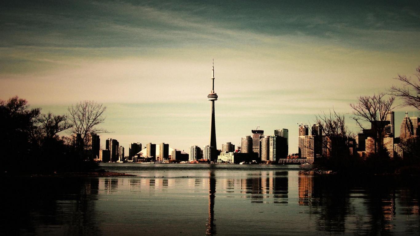 Beautiful Scenic Toronto Wallpaper By ROGUE RATTLESNAKE