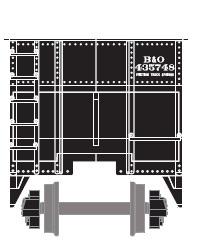 Baltimore n Ohio (BnO) Hopper Car by ROGUE-RATTLESNAKE