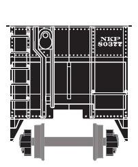 Nickle Plate Road (NKP) Hopper Car by ROGUE-RATTLESNAKE