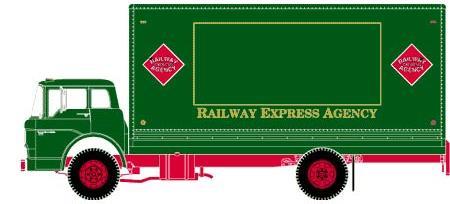 Railway Express Agency (REA) Ford C Box Van by ROGUE-RATTLESNAKE