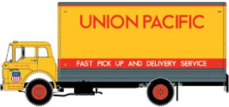 Union Pacific (UP) Ford C Box Van by ROGUE-RATTLESNAKE