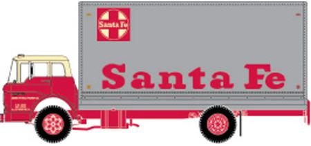 Santa Fe (ATSF) Ford C Box Van by ROGUE-RATTLESNAKE