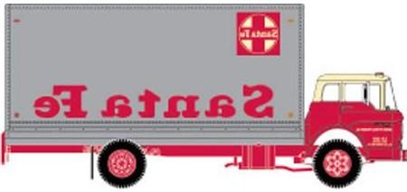 Santa Fe (ATSF) Ford C Box Van (Reverse) by ROGUE-RATTLESNAKE