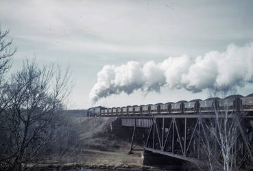 Yellowstone Train #231 on Cloquet River Bridge by ROGUE-RATTLESNAKE
