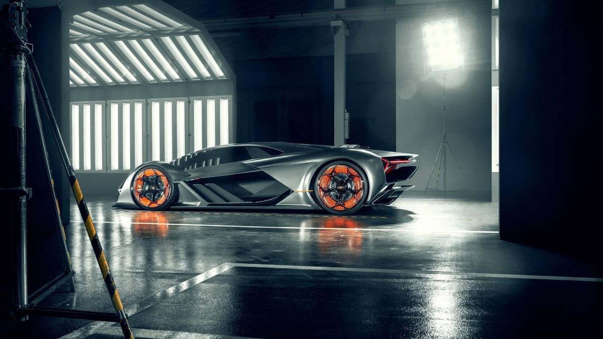 2019 Lamborghini Terzo Millennio Supercar Side By Rogue