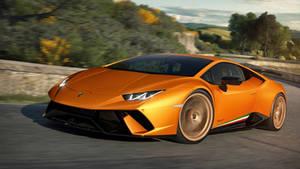 2017 Lamborghini Huracan Performante - In Motion