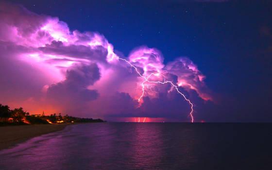 As The Lightning Storm Brews