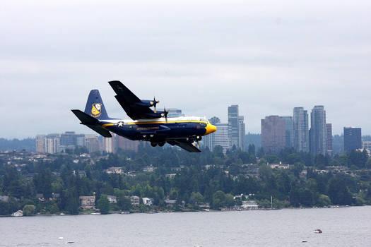 Blue Angels Lockheed C-130 Hercules 'Fat Albert'