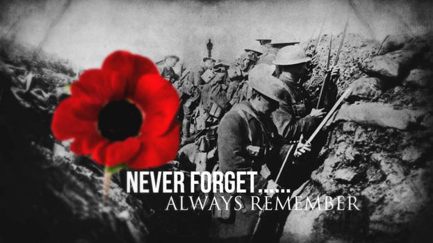 Never Forget... Always Remember - Remembrance Day