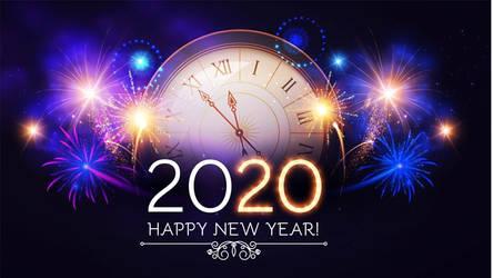 Happy New Year Everyone, Enjoy The Year 2020