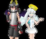 Angel? Demon? -Jen and Zen-