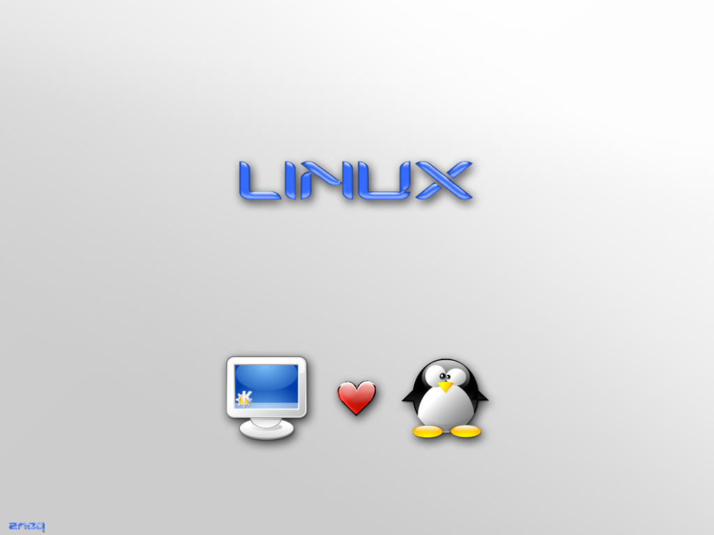 My PC Loves Linux by zmeq