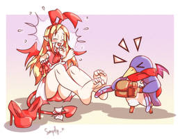Feathering Flonne by simplyNTK