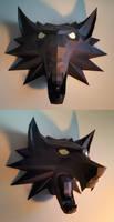 Witcher Medallion Papercraft Build (v2)