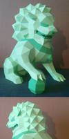 Lion Guardian (Foo Dog) Papercraft