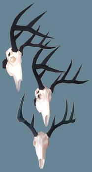Deer Skull Papercraft